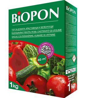 Biopon Ingrasamant Rosii, Castraveti si Legume 1kg