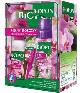 Biopon Pachet Ingrijire Orhidee (Gel 250, Spray 250, Sticks, Elixir DUO x4)