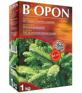 Biopon Ingrasamant de Toamna Pentru Conifere 1kg