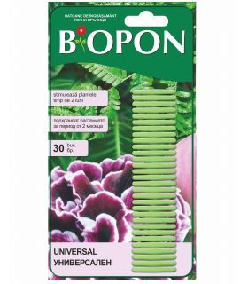 Biopon Ingrasamant Universal Sticks 30 buc