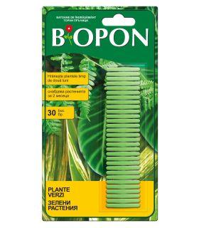 Biopon Ingrasamant Plante Verzi Sticks 30 buc