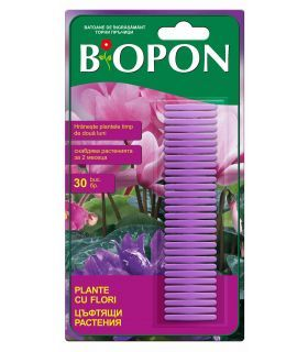 Biopon Ingrasamant Plante cu Flori Sticks 30 buc