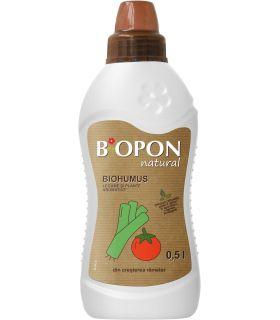 Biopon Biohumus Natural Legume si Ierburi Aromatice 0.5 l