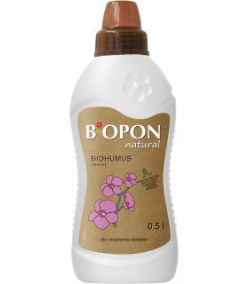 Biopon Biohumus Natural Orhidee 0.5 l