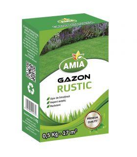 Seminte Gazon Rustic 0.5 Kg Amia